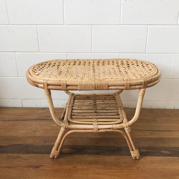 Vintage Style Natural Rattan Coffee Table