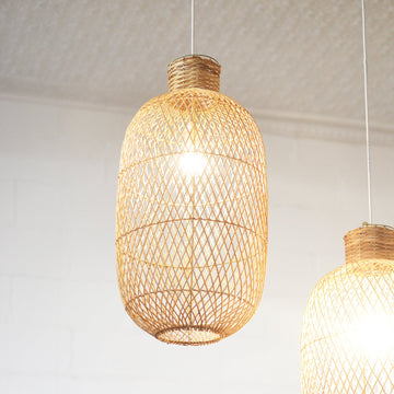 Resort Rattan Pendant