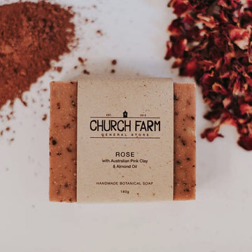 church farm organic botanical natural australian soap