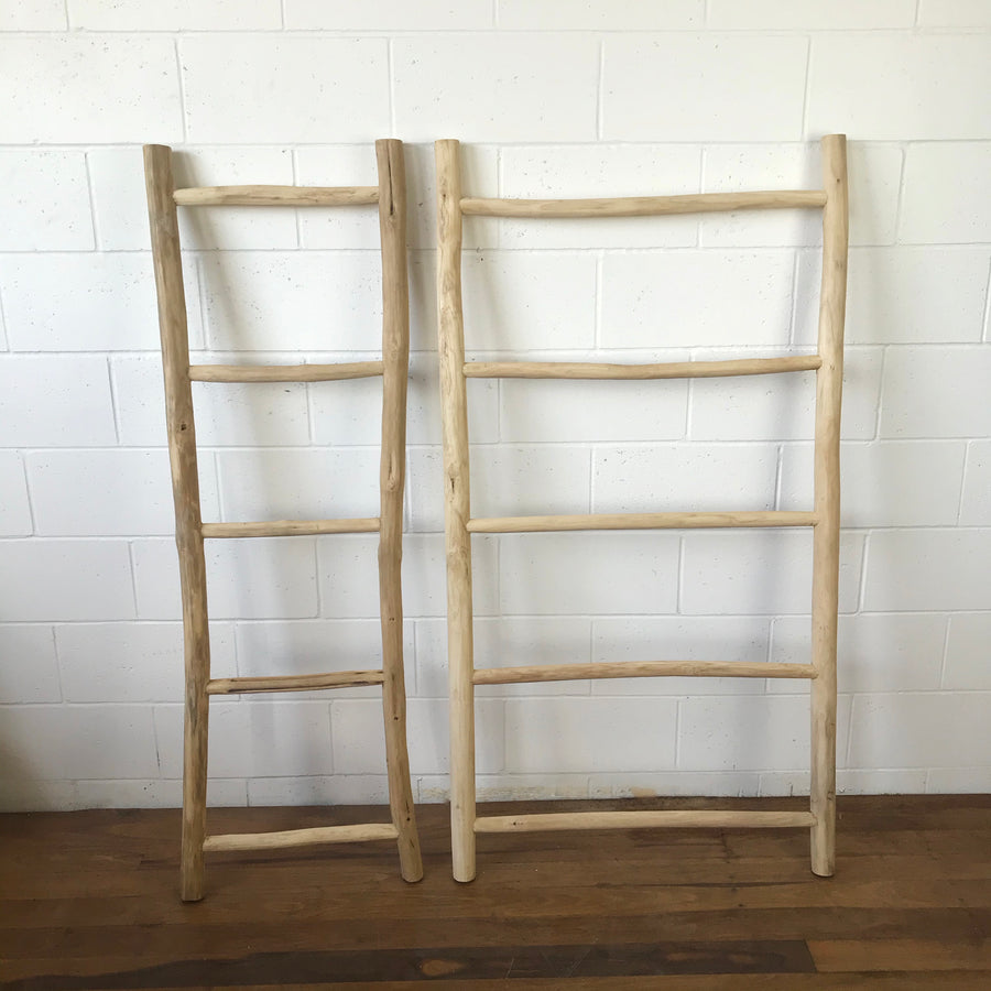 Large Teak Ladder
