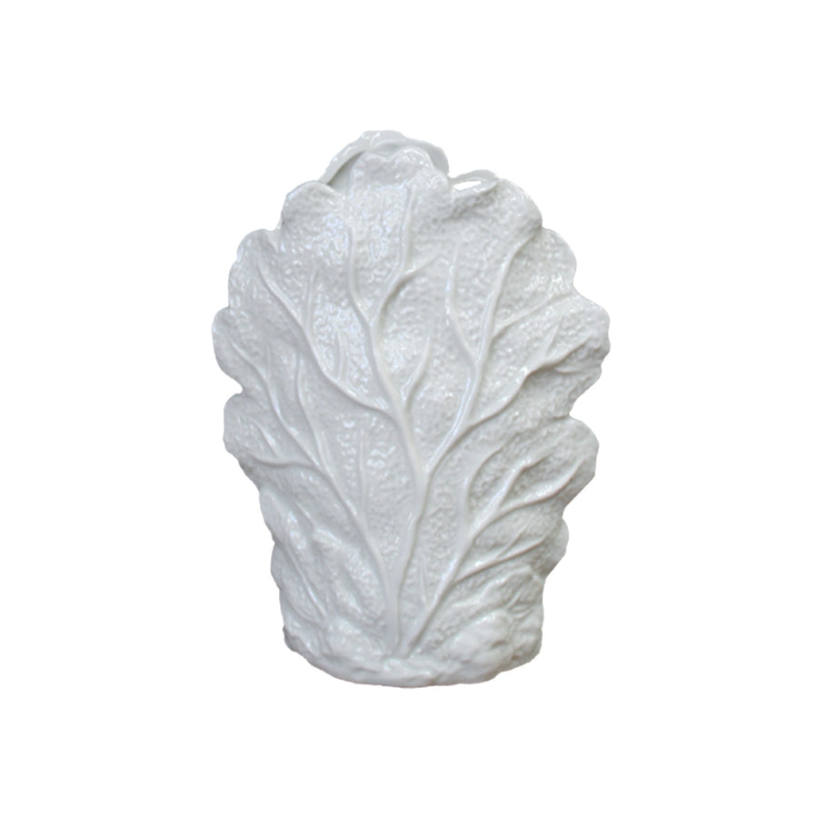 Seaside White Ceramic Vase