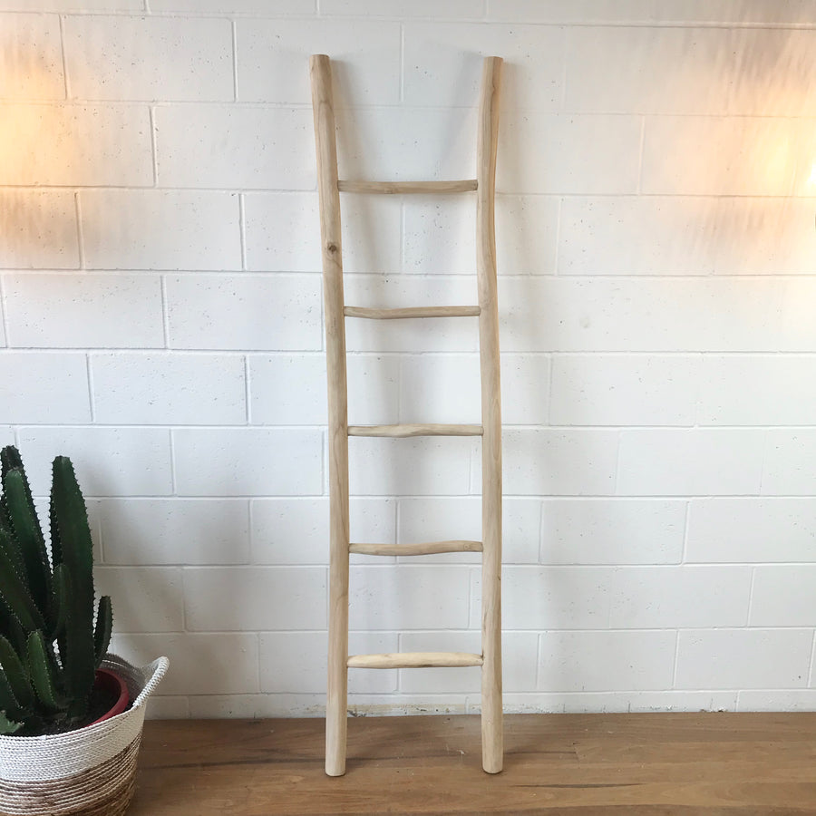 Small Teak Ladder