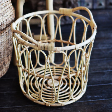 Sunrise Rattan Basket