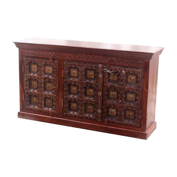 Indian Natural Timber 160cm Sideboard | Assorted Designs