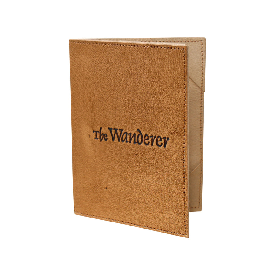 Wanderer Leather Passport Cover
