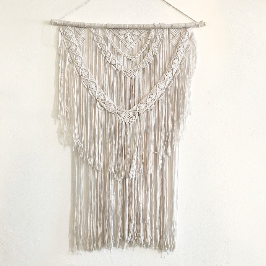 Large 'Lily' Macrame Wall Hanging