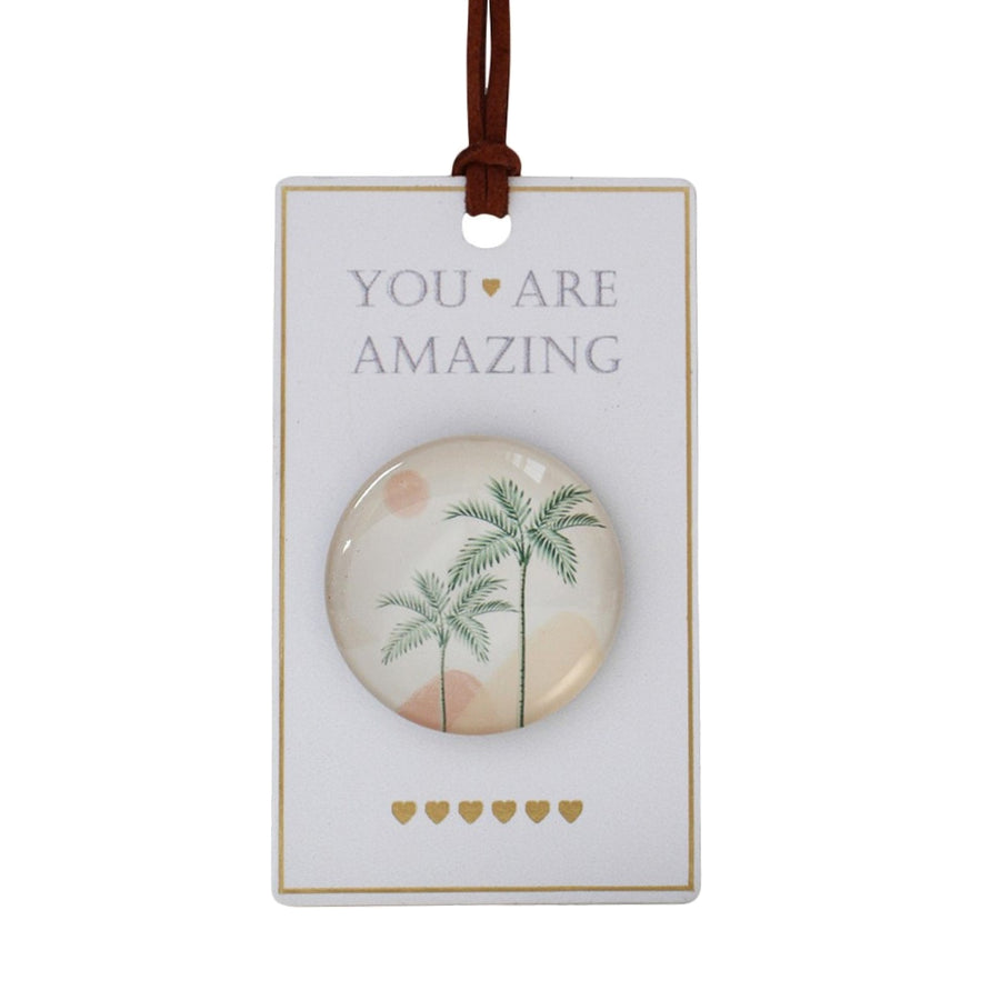 You are Amazing Tropical Fridge Magnet