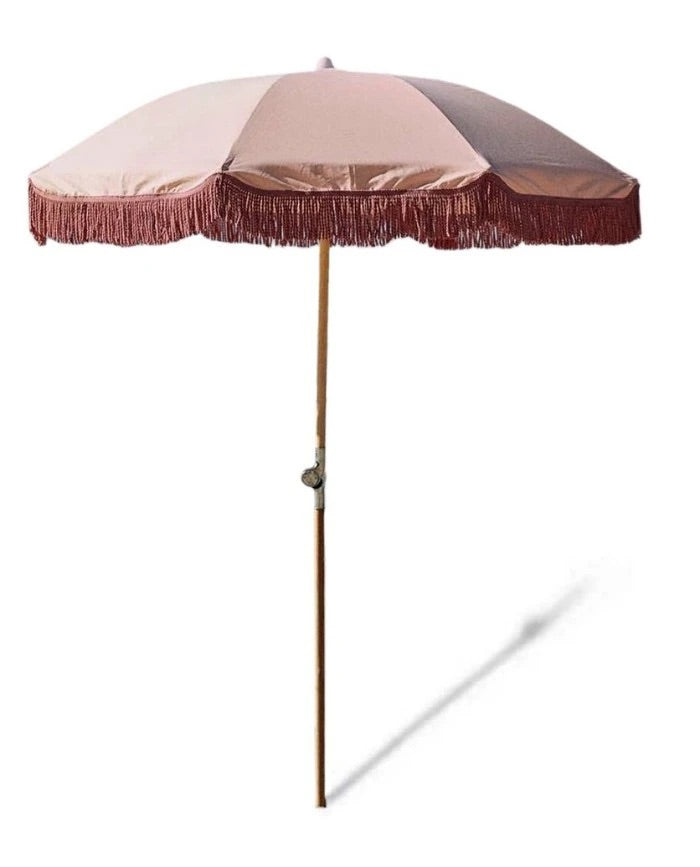 Blossom Wooden Umbrella