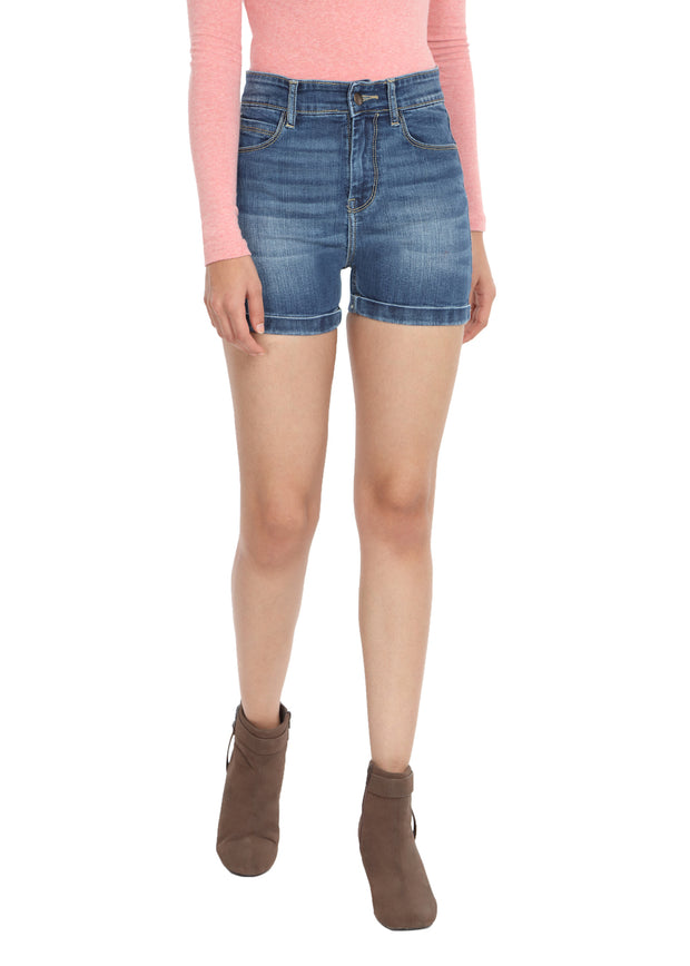 Denim Shorts Blue - GENZEE