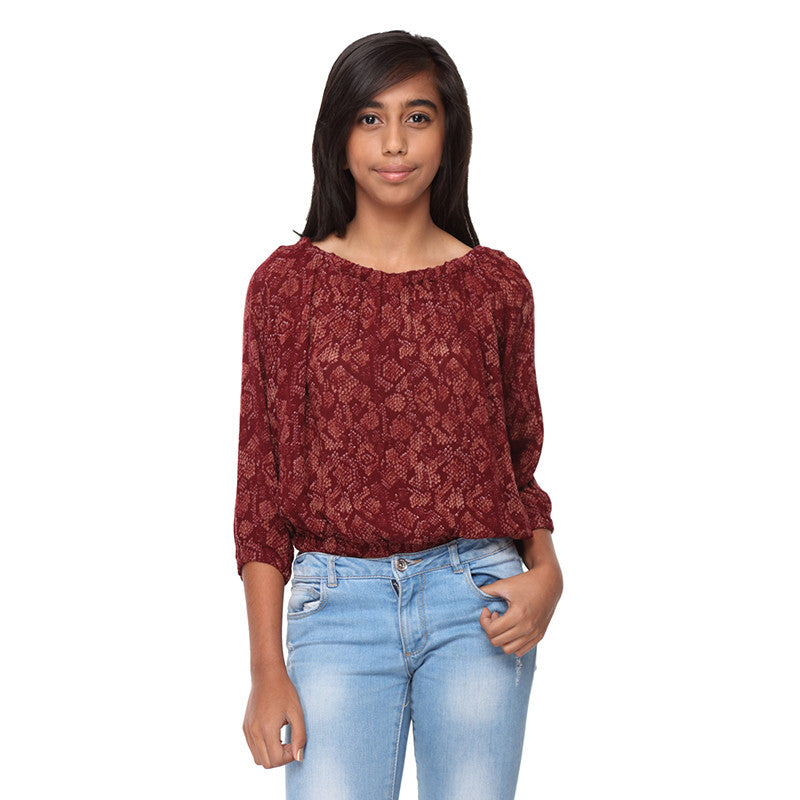 Viscose On/Off shoulder Crop Tops - GENZEE