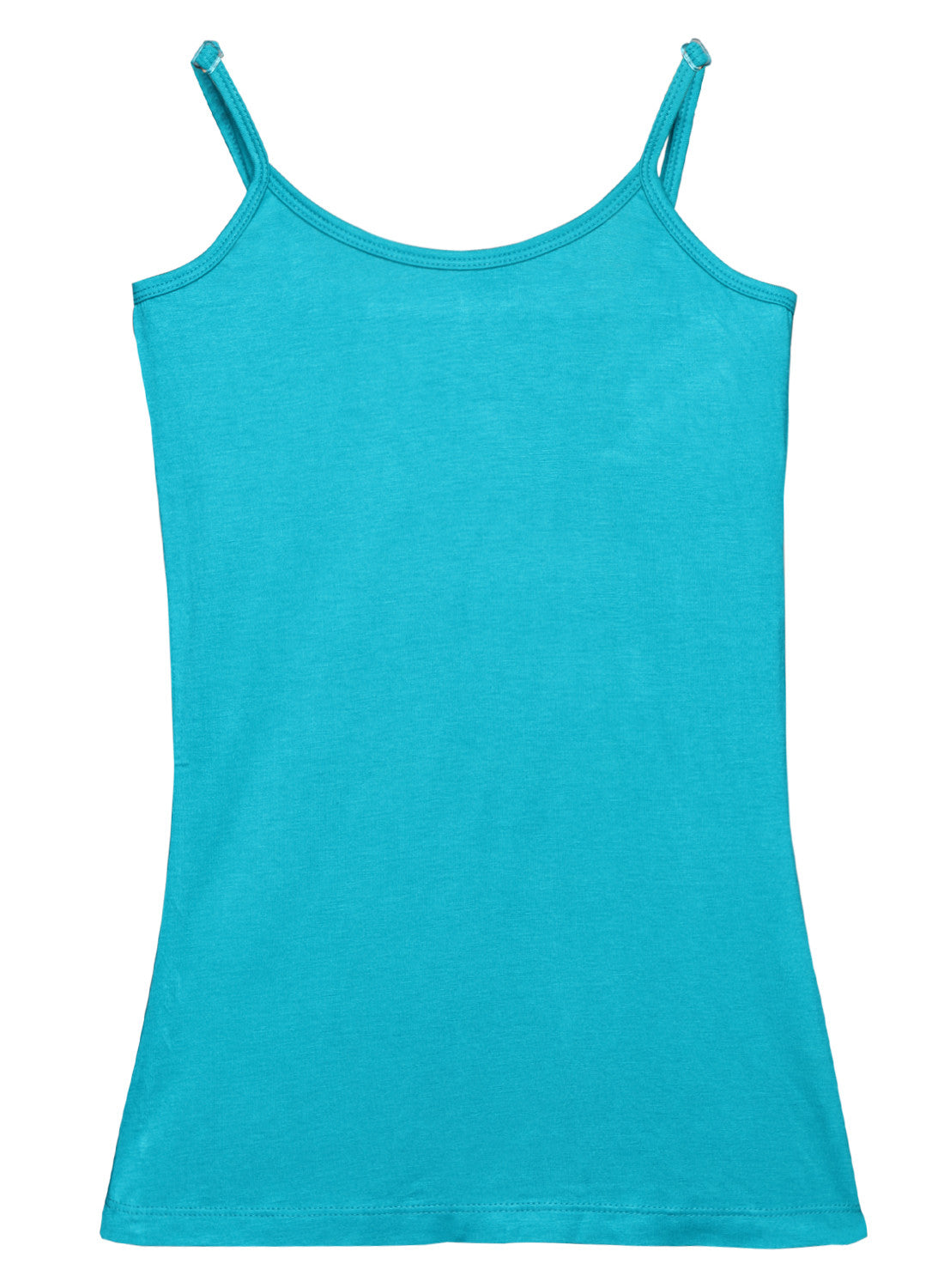 Blue Bamboo Cotton Spaghetti Top - GENZEE