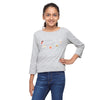 Grey Crop Tee with Comfort Food Print - GENZEE