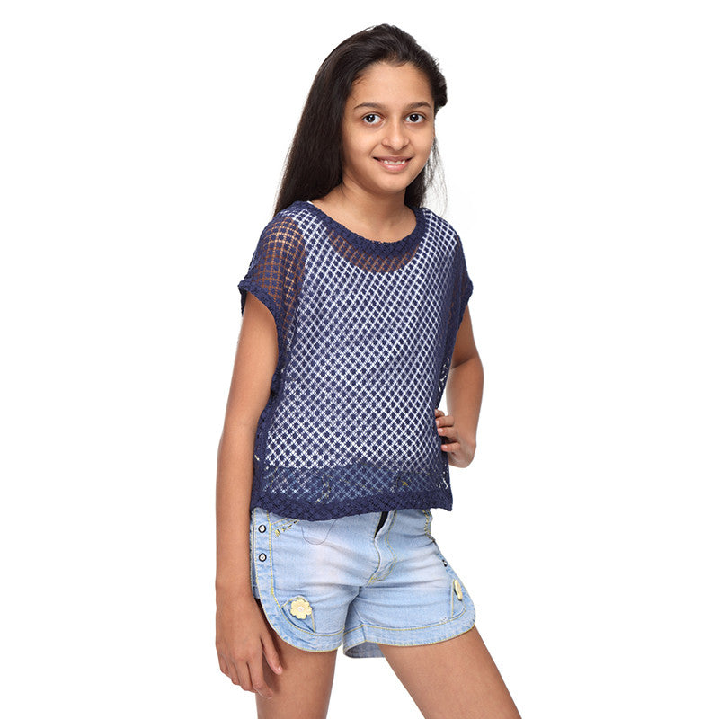 Net top for girls and women