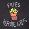 Black Long Tees , Fries Before Guys - GENZEE