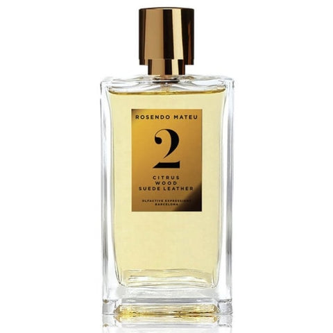 Rosendo Mateu - No.2 Citrus, Wood, Suede Leather fragrance samples
