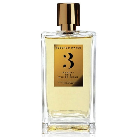 Rosendo Mateu - No.3 Neroli, Iris, White Musk fragrance samples