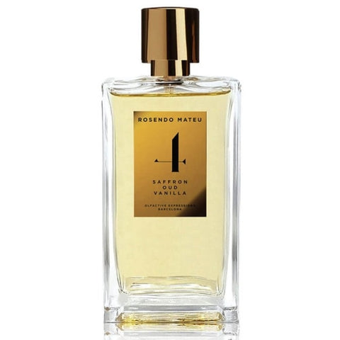 Rosendo Mateu - No.4 Saffron, Oud, Vanilla fragrance samples