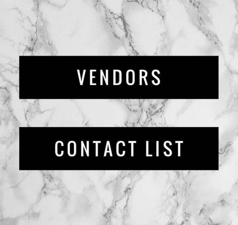 Hair Vendor Information