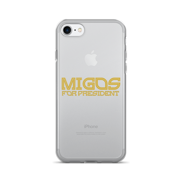 Migos for President iPhone Case (iPhone 7/7plus)