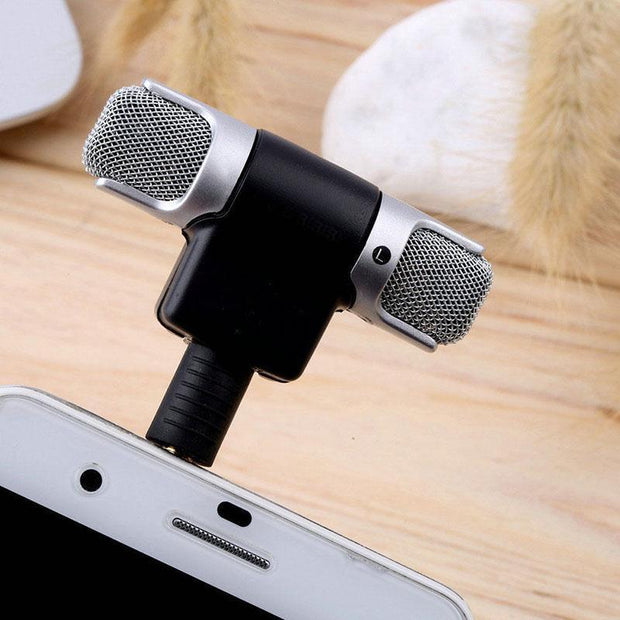 MINI MICROPHONE JACK FOR SMARTPHONE/PC 60%OFF