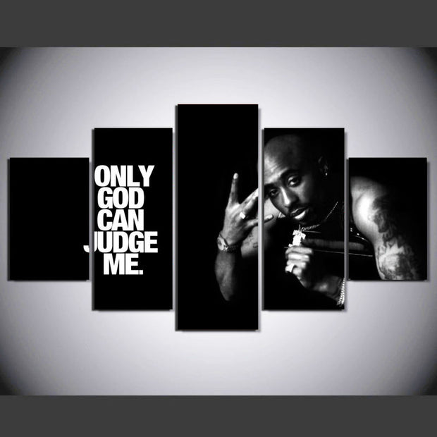 2 Pac- 5 Panel Home Decor Wall Art Canvas