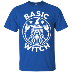 Funny Halloween With Basic Witch Logo Men's T-Shirt Men's T-Shirt - teesdiys