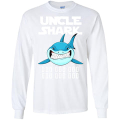 Uncle Shark Long Sleeve T-Shirt Long Sleeve T-Shirt - teesdiys