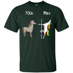 Unicorn You Me Lgbt Funny Shirt Shirt - teesdiys G200 Gildan Ultra Cotton T-Shirt - teesdiys