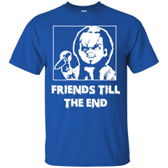 Halloween With Chucky Friends Till The End Men's T-Shirt Men's T-Shirt - teesdiys
