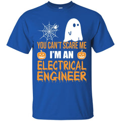 You Can't Scare Me I'm An Electrical Engineer Halloween Shirt Shirts - teesdiys G200 Gildan Ultra Cotton T-Shirt - teesdiys