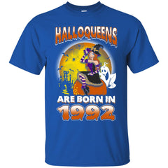 Funny Halloween Halloqueens Are Born In 1992 Men's T-Shirt Men's T-Shirt - teesdiys