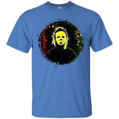 Scary Halloween With Michael Men's T-Shirt Men's T-Shirt - teesdiys