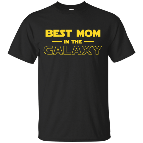 Best Mom In The Galaxy Shirt T shirt Black / Small Custom Ultra Cotton T-Shirt - teesdiys
