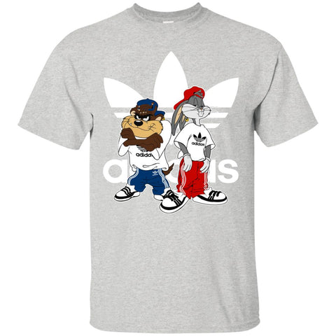 Bugs Bunny And Dog Adidas Fashion Men's T-Shirt