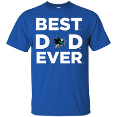 Best Dad Ever San Jose Sharks Ameria Sport Father Gift Men's T-Shirt Men's T-Shirt - teesdiys