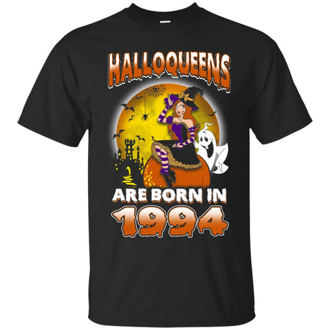 Funny Halloween Halloqueens Are Born In 1994 Men's T-Shirt