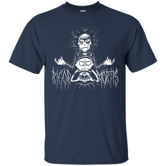 Womens Rick And Morty Rigor And Motis Halloween Shirt - teesdiys Custom Ultra Cotton T-Shirt - teesdiys