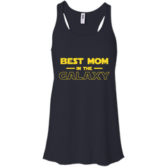 Best Mom In The Galaxy Shirt T shirt Bella+Canvas Flowy Racerback Tank - teesdiys