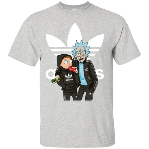 Rick And Morty Adidas Fashion Men's T-Shirt