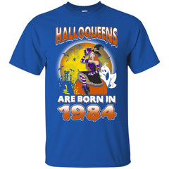 Funny Halloween Halloqueens Are Born In 1984 Men's T-Shirt Men's T-Shirt - teesdiys
