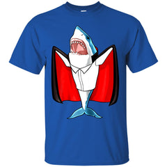 Halloween With Shark Vampire Men's T-Shirt Men's T-Shirt - teesdiys