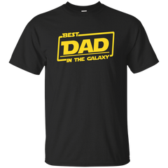 Best Best Dad In The Galaxy Shirt Long Sleeve - teesdiys Custom Ultra Cotton T-Shirt - teesdiys