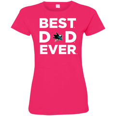 Best Dad Ever San Jose Sharks Ameria Sport Father Gift Women's T-Shirt Women's T-Shirt - teesdiys