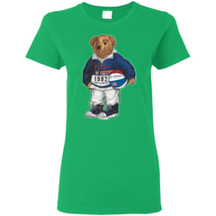 Bigger Bear With Ball T-shirt G500L Gildan Ladies' 5.3 oz. T-Shirt - teesdiys