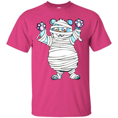 Mummy Panda With Halloween Men's T-Shirt Men's T-Shirt - teesdiys