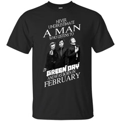 Trending A Man Who Listens To Green Day And Was Born In February G200 Gildan Ultra Cotton T-Shirt - teesdiys