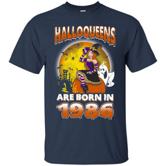 Funny Halloween Halloqueens Are Born In 1986 Men's T-Shirt Men's T-Shirt - teesdiys