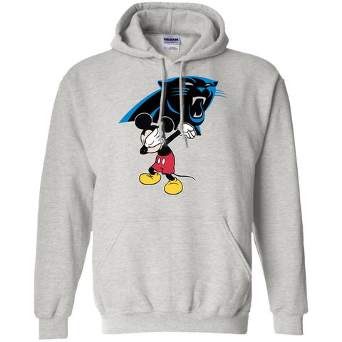 Dabbing Mickey Funny Love Carolina Panthers America Football Hoodie