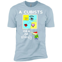 A Cubists Idea Of Beauty T-shirt NL3600 Next Level Premium Short Sleeve T-Shirt - teesdiys