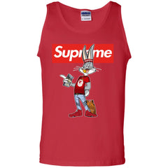 Bug Bunny Hip Hop Supreme T-shirt G220 Gildan 100% Cotton Tank Top - teesdiys